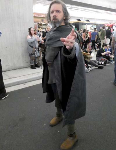 luke skywalker cosplay black