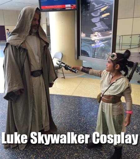 star wars luke skywalker cosplay